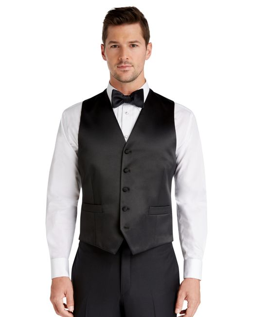 Jos a bank 1905 collection tailored fit tuxedo separate for Jos a bank slim fit vs tailored fit shirts