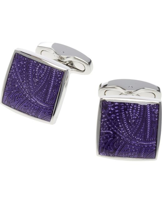 Jos. A. Bank | Purple Square Cufflinks for Men | Lyst