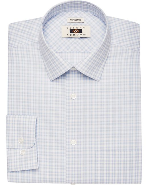 Lyst jos a bank joseph abboud traditional fit spread for Joseph abboud dress shirt