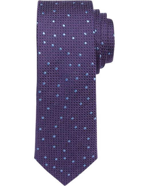 Jos. A. Bank - Purple 1905 Collection Dot Tie for Men - Lyst