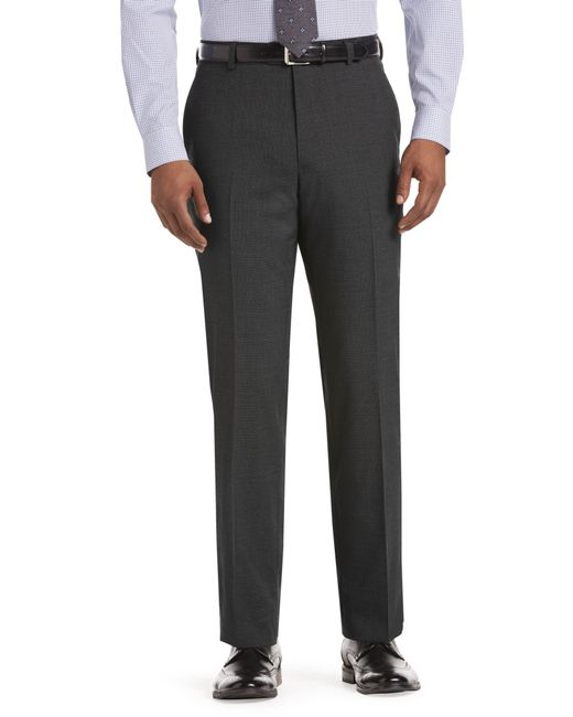Jos. A. Bank | Gray 1905 Collection Tailored Fit Mini Houndstooth Dress Pants for Men | Lyst