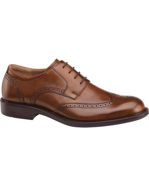 Jos. A. Bank - Brown Johnston & Murphy Tabor Wingtip Shoes for Men - Lyst