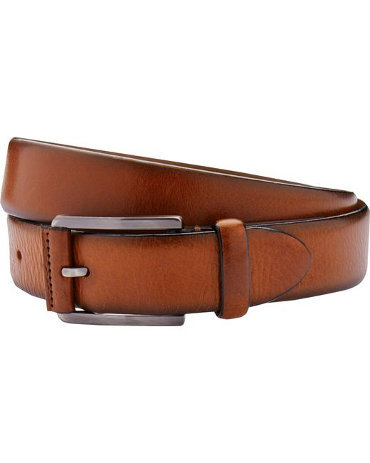 Jos. A. Bank Brown Casual Leather Belt - Long for men