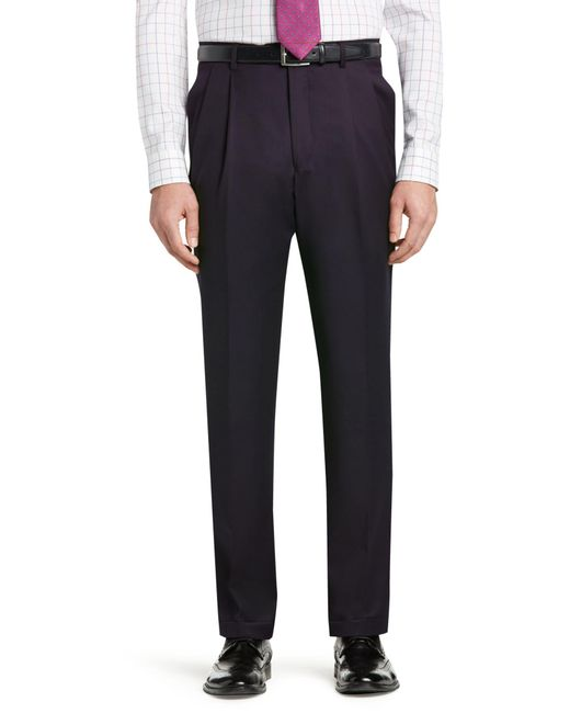 Jos. A. Bank - Blue Signature Gold Collection Traditional Fit Dress Pants for Men - Lyst