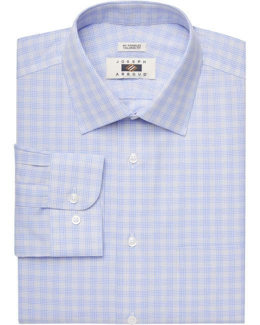 Jos a bank joseph abboud tailored fit spread collar for Tailoring a dress shirt