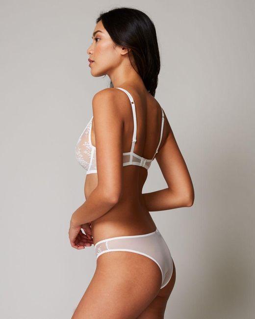 f10edf021 ... Journelle - White Romy Demi Bra - Lyst ...