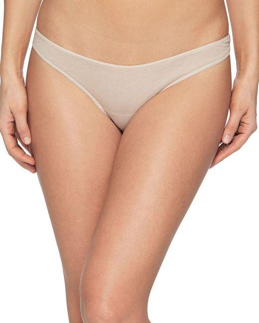 Skin - Natural Organic Pima Cotton Bikini - Lyst
