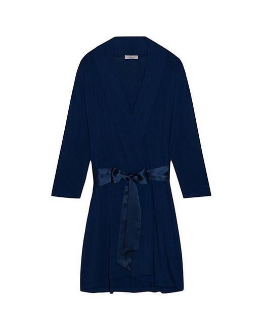 Fleur't - Blue Take Me Away Short Robe - Lyst