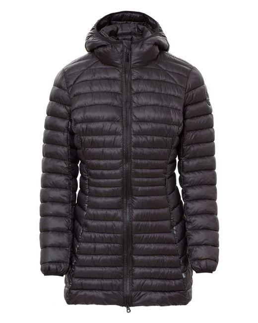 Napapijri - Black Aerons Long Hooded Jacket - Lyst