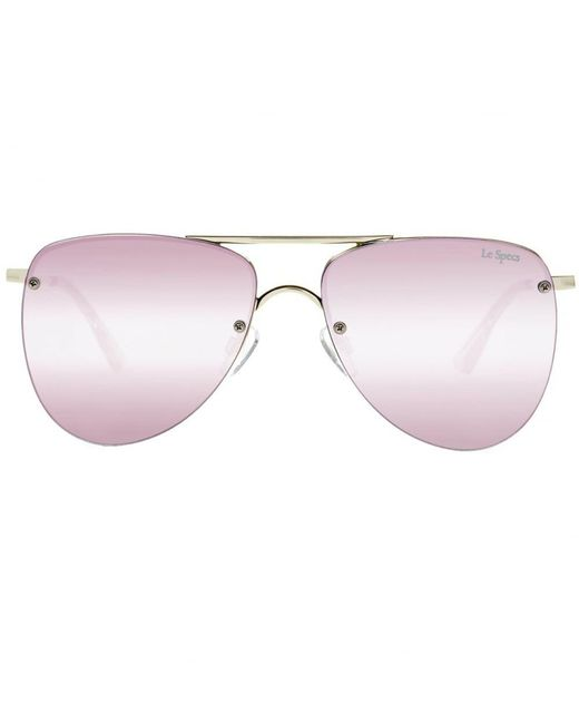 Le Specs - Metallic The Prince Sunglasses - Lyst