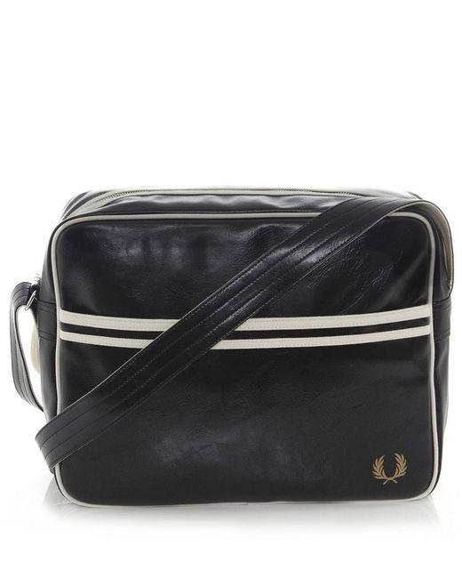 Fred Perry   Black Classic Shoulder Bag for Men   Lyst