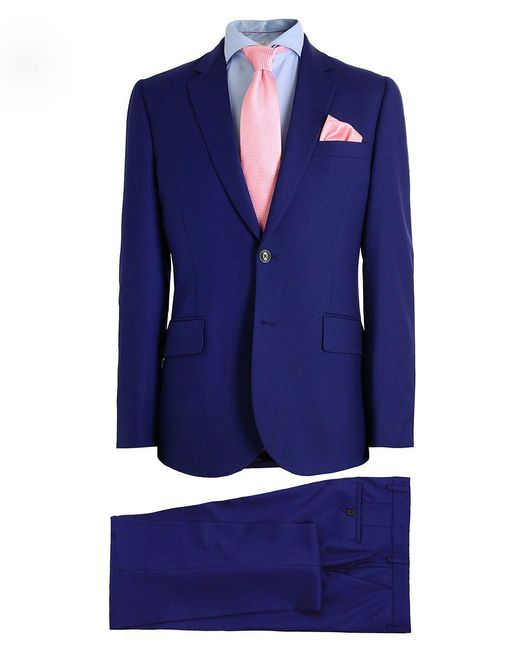 Paul Smith | Blue Tailored Fit Wool Suit for Men | Lyst