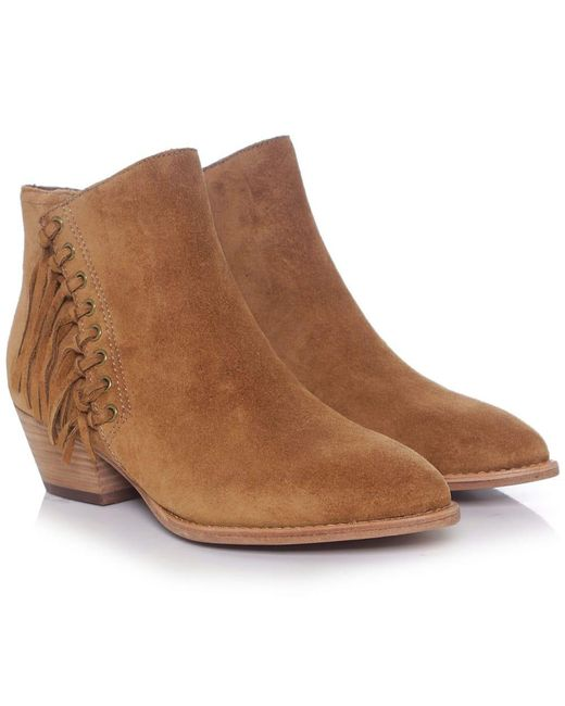 Ash | Blue Lenny Soft Ankle Boots | Lyst