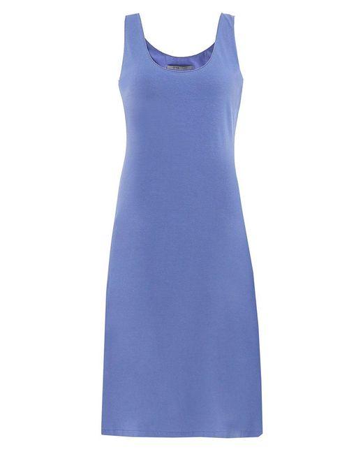 Crea Concept - Blue Sleeveless Jersey Dress - Lyst
