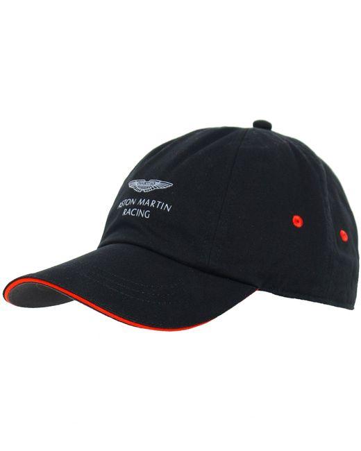 Hackett - Black Contrast Trim Cotton Cap for Men - Lyst