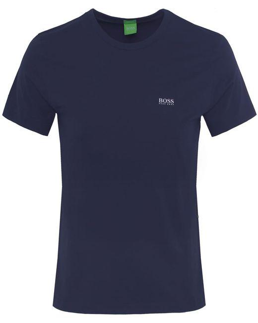 BOSS - Blue Regular Fit Tee T-shirt for Men - Lyst