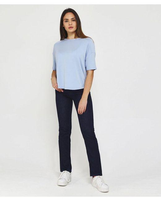 Marliyn Straight Leg Jeans NYDJ en coloris Blue