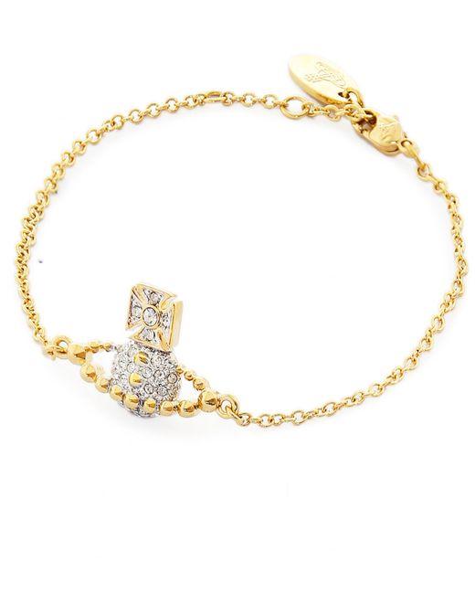 Vivienne Westwood - Metallic Lena Bas Relief Bracelet - Lyst