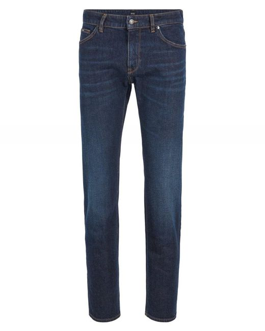 Regular Fit Maine3 Jeans BOSS by Hugo Boss pour homme en coloris Blue