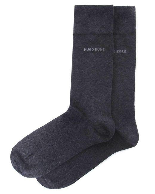 BOSS Gray Two Pack Of Socks for men