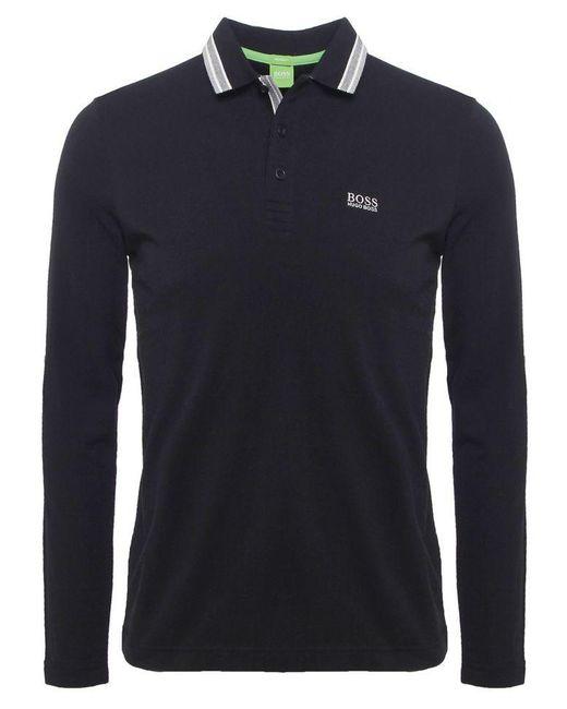 BOSS Black Modern Fit Plisy Polo Shirt for men