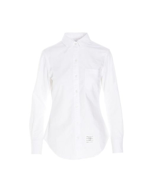 Camicia 'Oxford' di Thom Browne in White