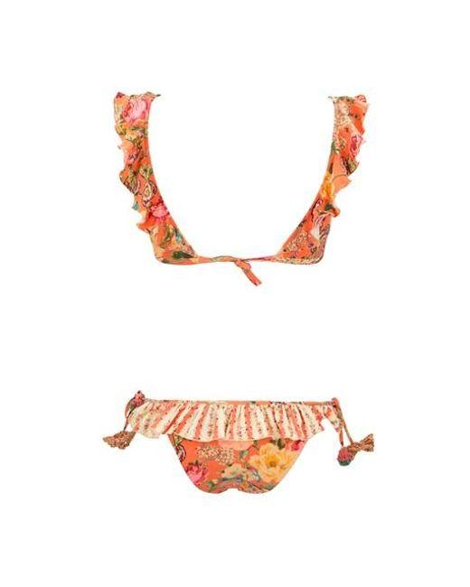 Anjuna Women's All Over Floral Print Bikini