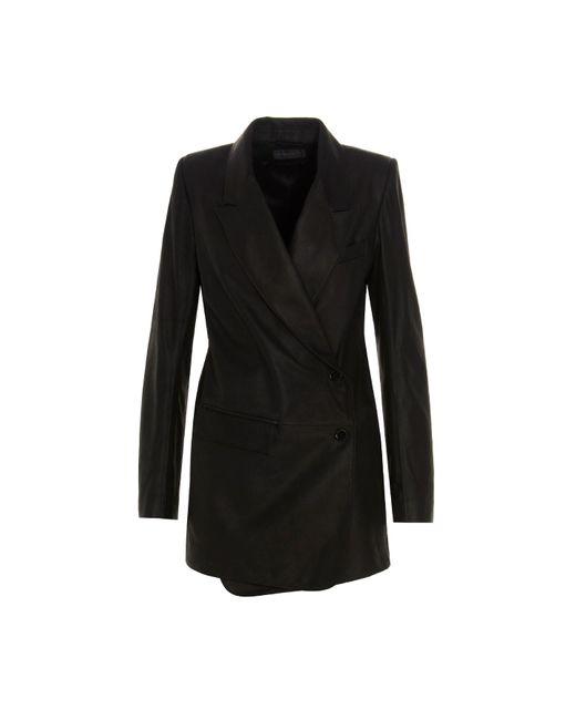 Blazer 'Angelina' di Ann Demeulemeester in Black