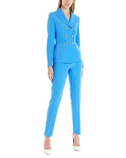 Tagliatore Blue 't-anise' Suits