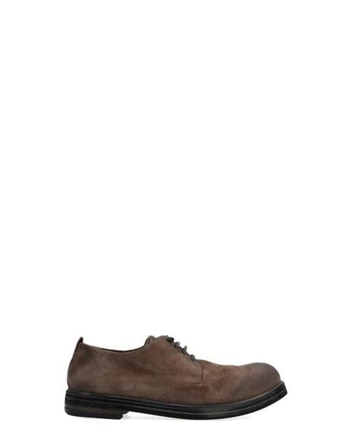 Marsèll Brown 'zucca Zeppa' Lace Up Shoes for men