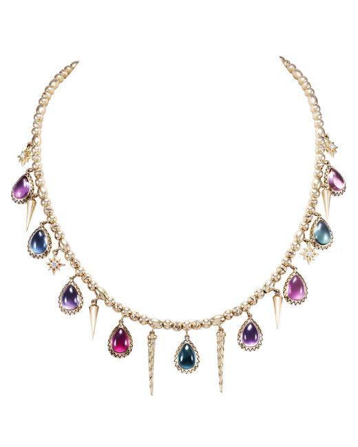 Venyx Multicolor Narwal Necklace