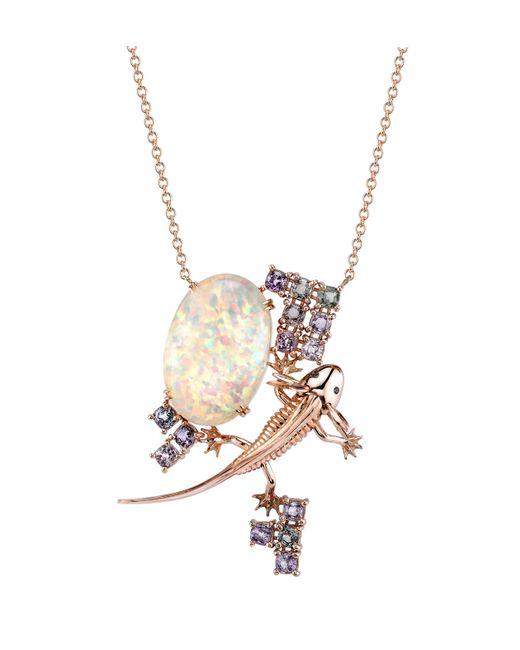 Daniela Villegas - Metallic Xaltocan Necklace - Lyst