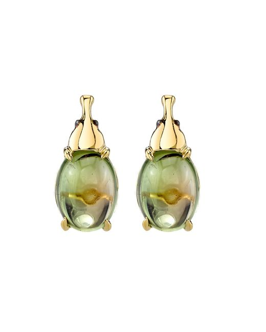 Daniela Villegas | Metallic Nefertiti Earrings | Lyst