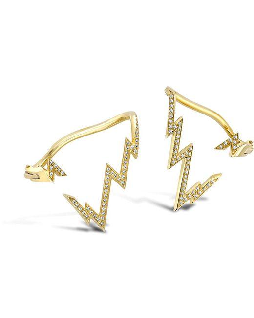 Venyx - Yellow Miss Zeus Diamond Ear Cuff - Lyst