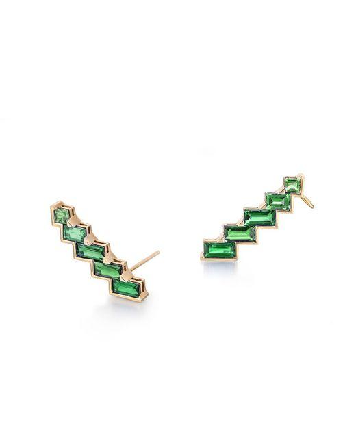Tomasz Donocik - Green Electric Night Emerald Ear Cuffs - Lyst