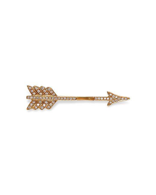 Anita Ko | Metallic Yellow Arrow Earring | Lyst