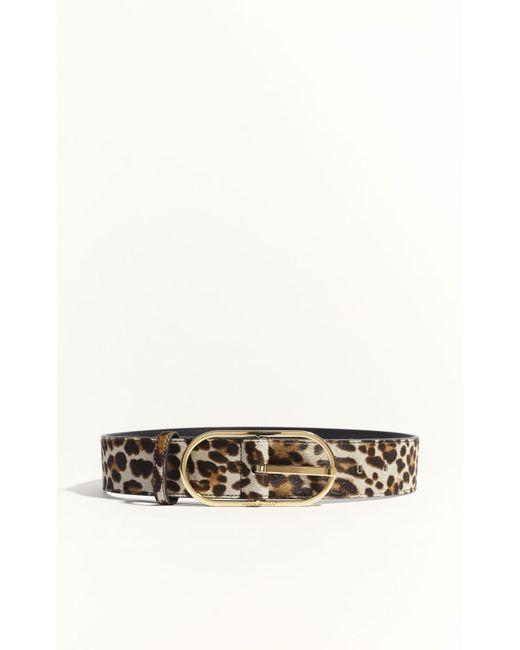Karen Millen | Multicolor Leopard Print Pony Waistbelt - Leopard Print | Lyst