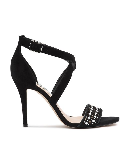 f58e0b20257 ... Karl Lagerfeld - Black Lada High Heel Dress Sandal - Lyst