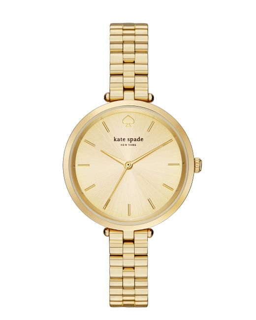 Kate Spade - Metallic Holland Skinny Bracelet Watch - Lyst