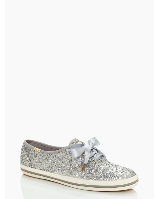 Kate Spade - Metallic Keds X New York Glitter Sneakers - Lyst