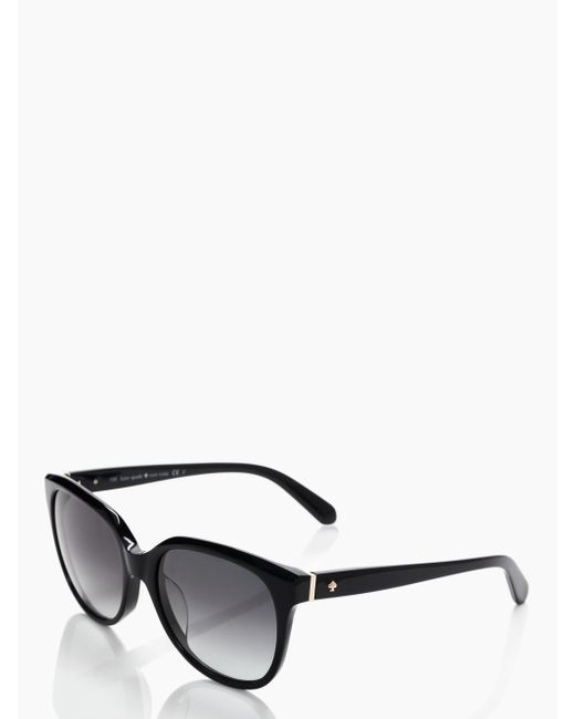 Kate Spade - Black Bayleigh Sunglasses - Lyst