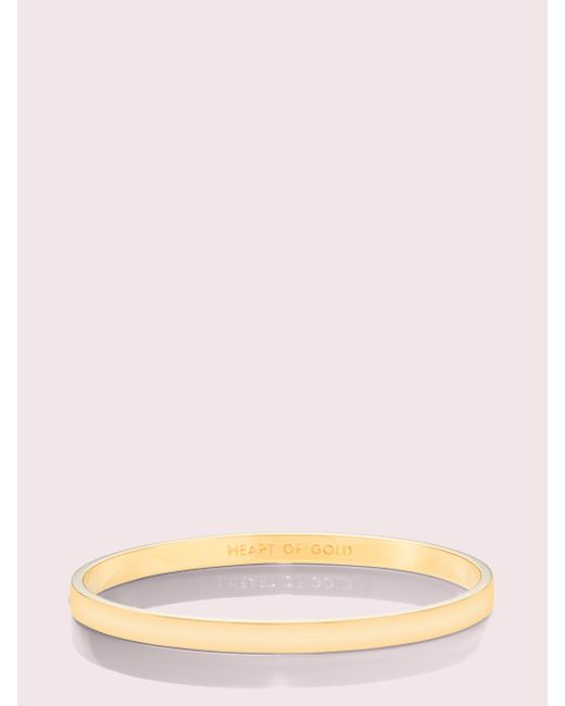 Kate Spade Metallic Heart Of Gold Bangle