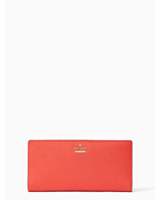 Kate Spade | Red Cameron Street Large Stacy | Lyst