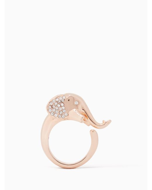 Kate Spade | Multicolor Things We Love Elephant Ring | Lyst