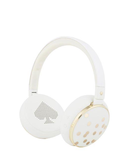 Kate Spade - White Wireless Headphones - Lyst