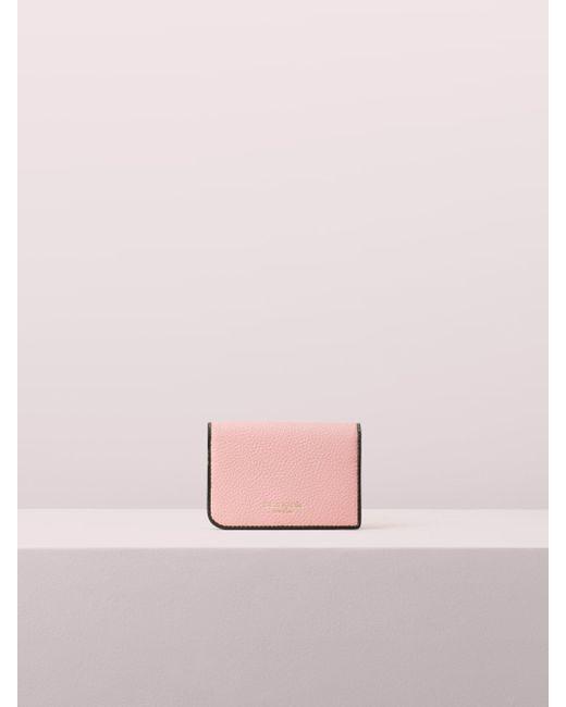 Kate Spade - Pink Sam Bifold Cardholder - Lyst