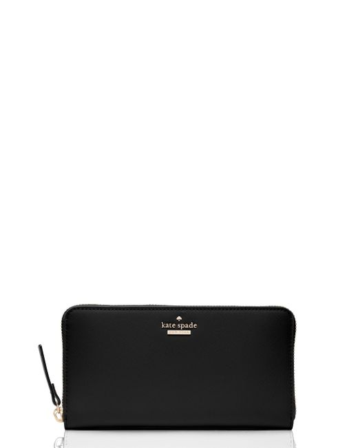 Kate Spade - Black Portefeuille Lacey Cameron Street - Lyst