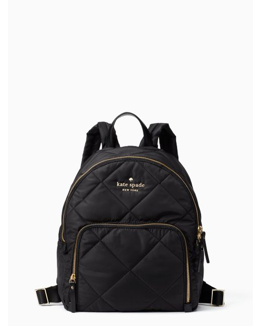 Kate Spade - Black Watson Lane - Hartley Quilted Nylon Backpack - - Lyst
