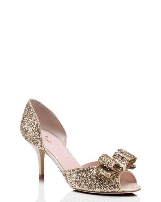 Kate Spade | Metallic Sela Heels | Lyst