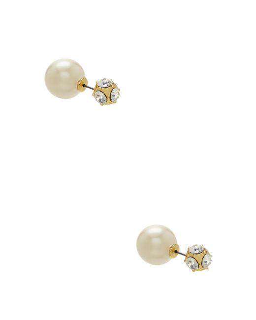 Kate Spade - Metallic Dainty Sparklers Reversible Earrings - Lyst